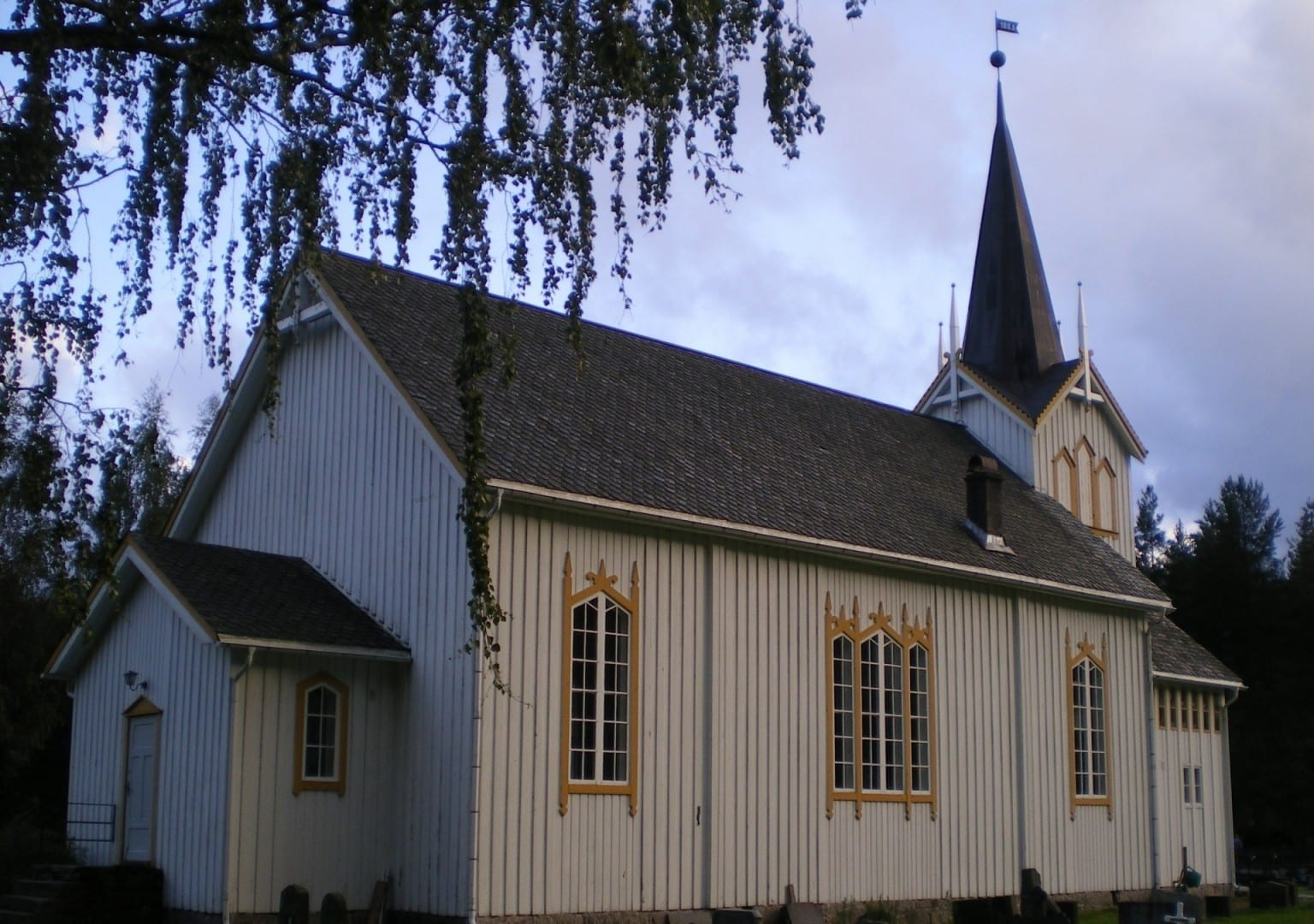 La iglesia de Vrådal Vradal Noruega