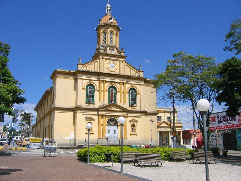 La Iglesia Madre de Nuestra Señora de la Candelaria. Itu Brasil