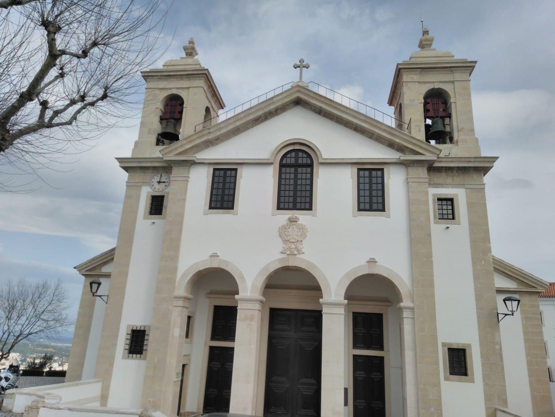 La Iglesia Parroquial de Ourém. Ourém Portugal