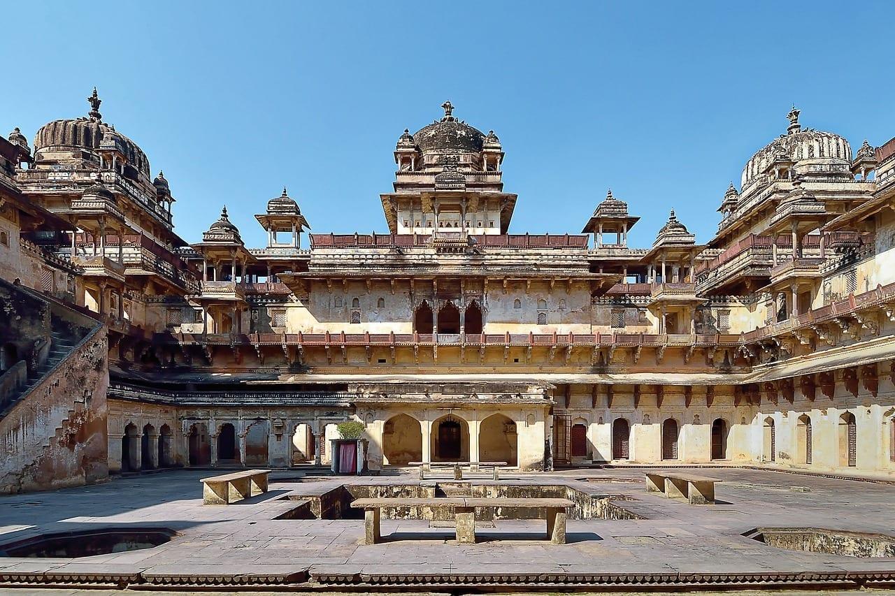La India Orchha Orchha Fort India