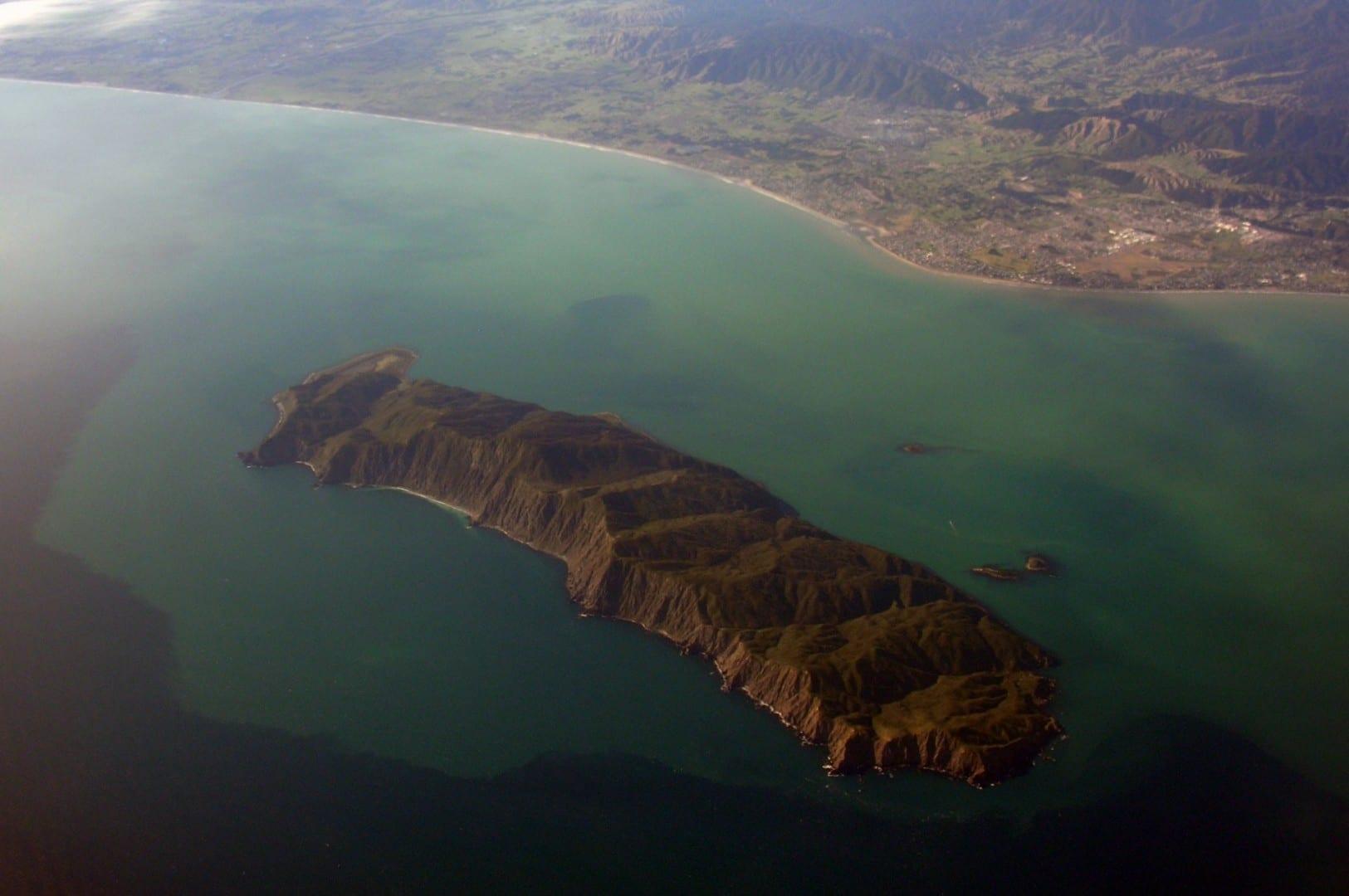 La isla de Kapiti y Paraparaumu Paraparaumu Nueva Zelanda