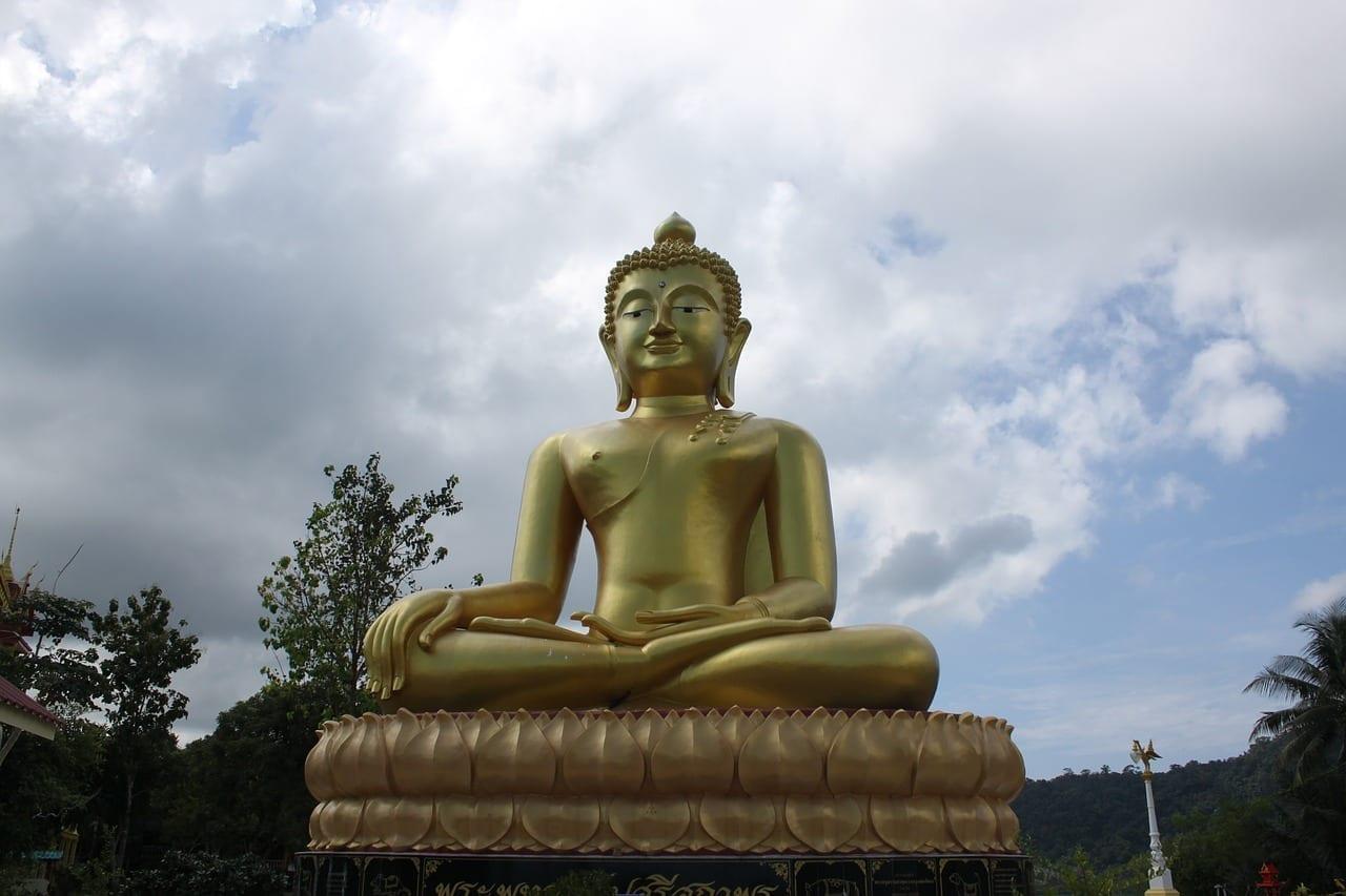 La Isla De Koh Kood Buda Tailandia Tailandia