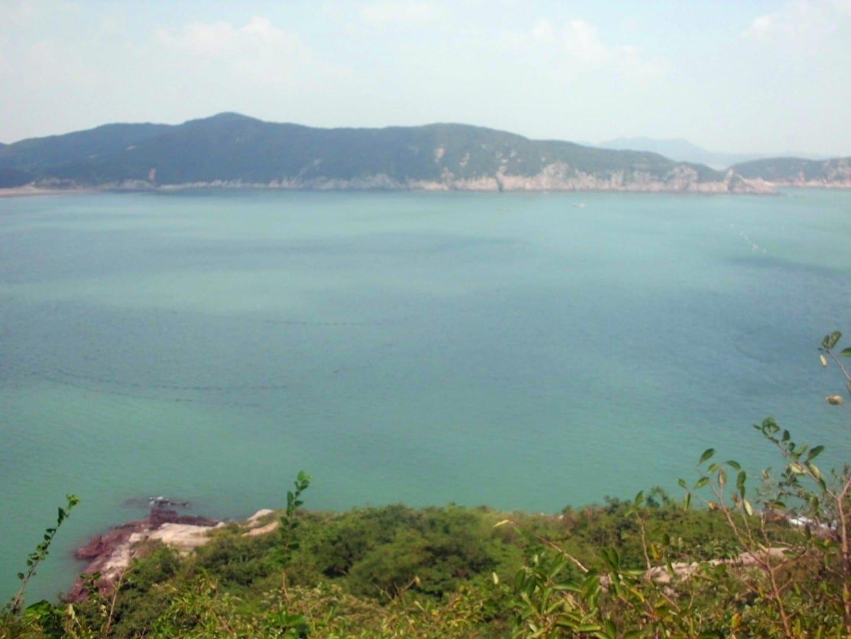 La isla de Taohua Zhoushan China