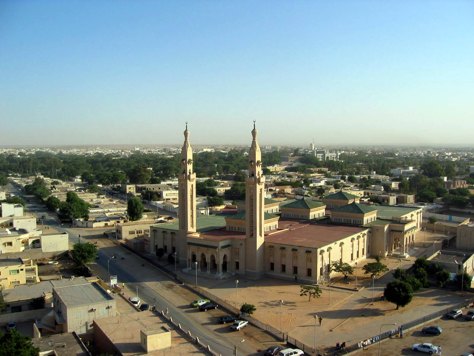 La Mezquita Central Nuakchot Mauritania