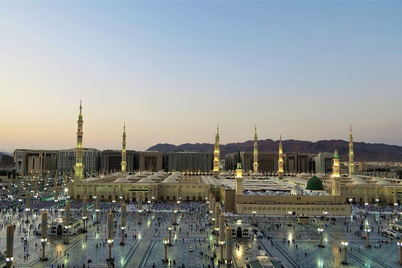 La Mezquita De Nabi Medina Cami Arabia Saudí