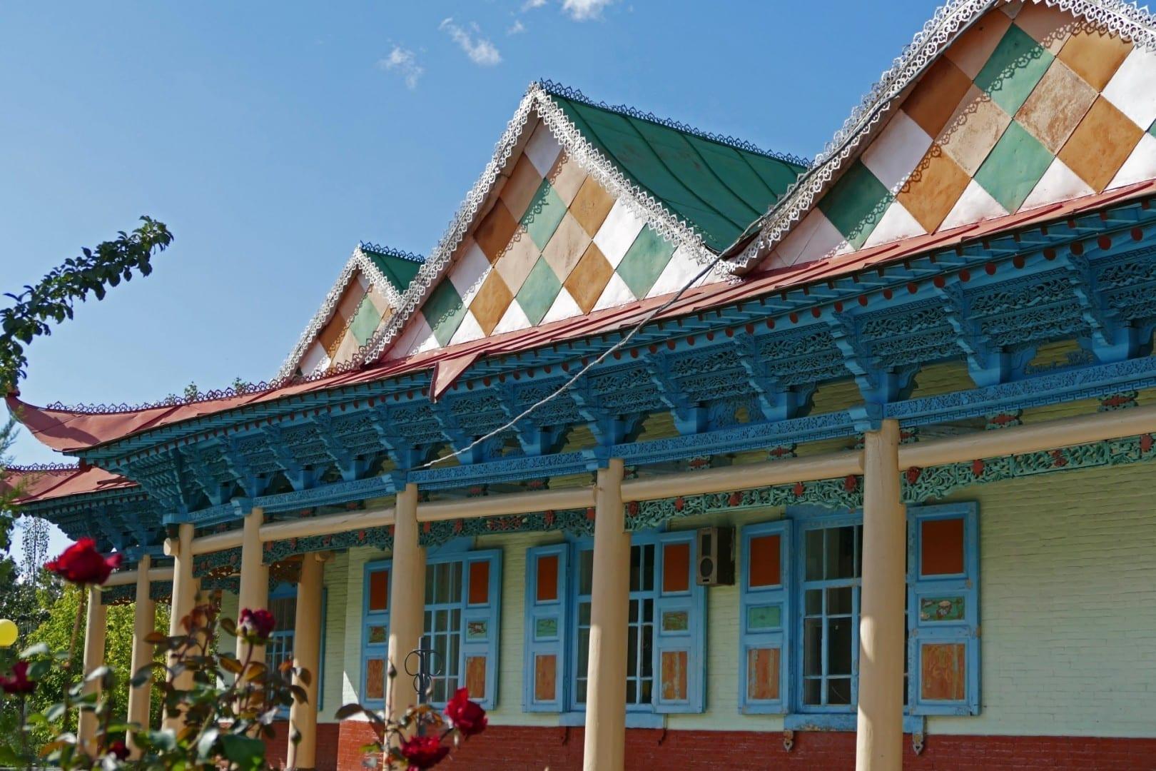 La Mezquita Dungan Karakol Kirguizistán