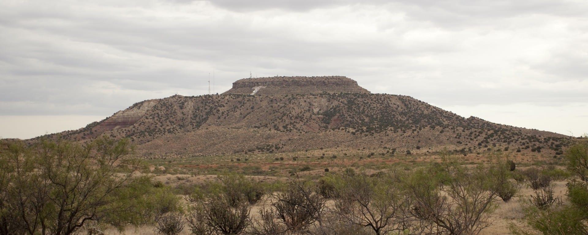 La montaña Tucumcari Tucumcari NM Estados Unidos