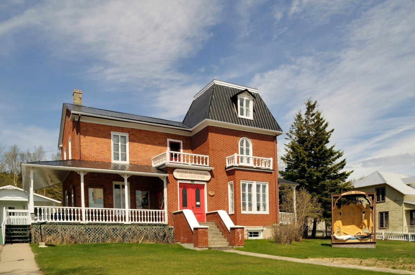 La Oficina de Turismo local Tadoussac Canadá