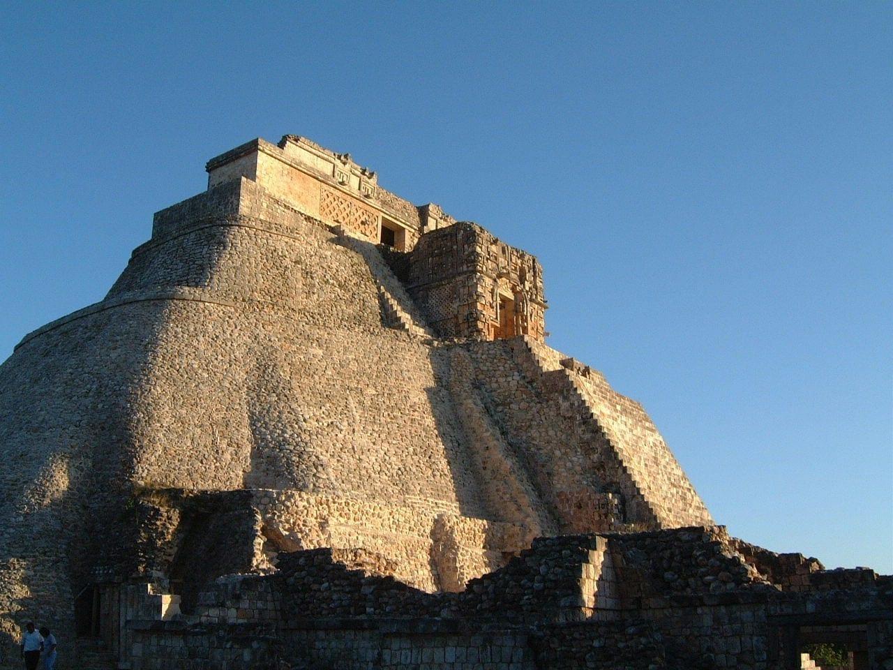 La Pirámide del Mago Uxmal México