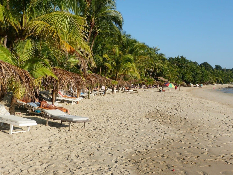 La playa de Ngapali Ngapali Myanmar