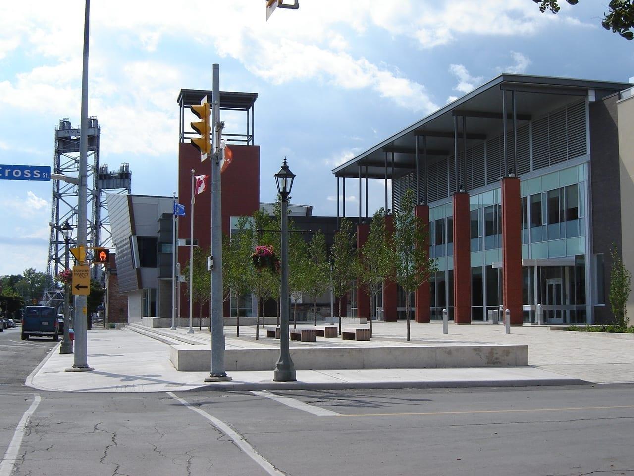 La Plaza Cívica de Welland Welland Canadá