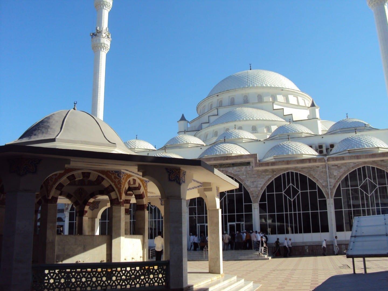 La principal mezquita de Makhachkala Makhachkala Rusia