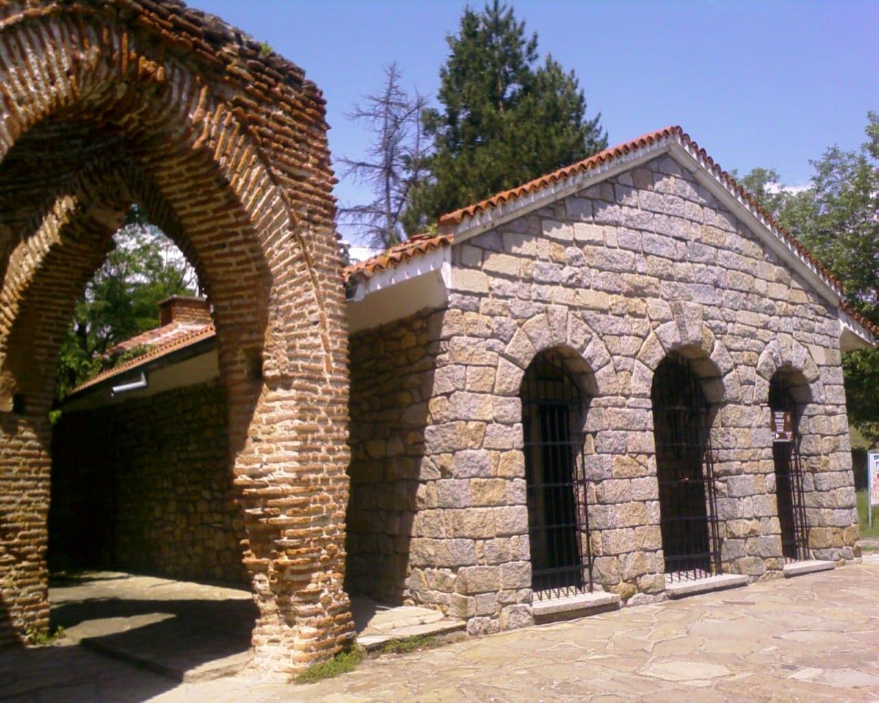 La tumba de los tracios Kazanlak Bulgaria