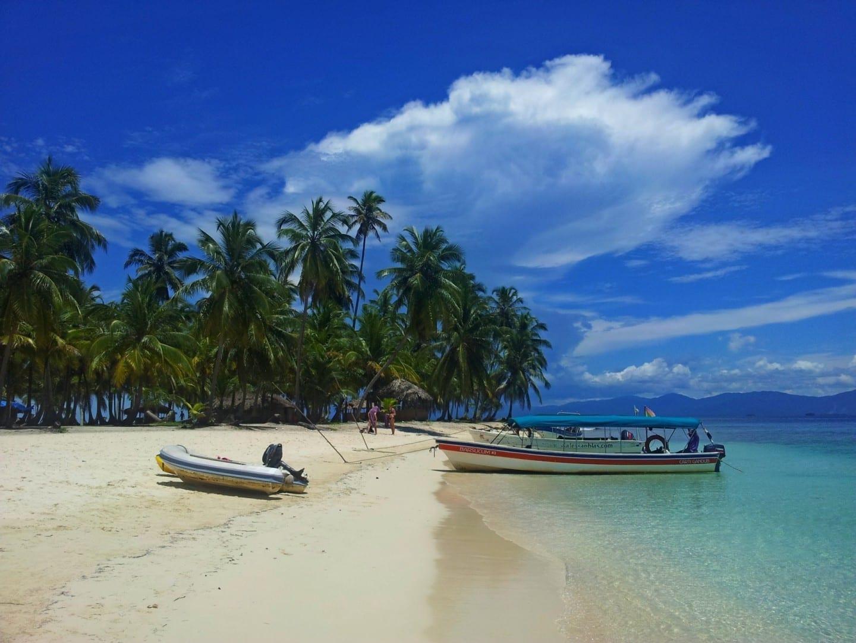 La vida en la isla San Blas Panamá