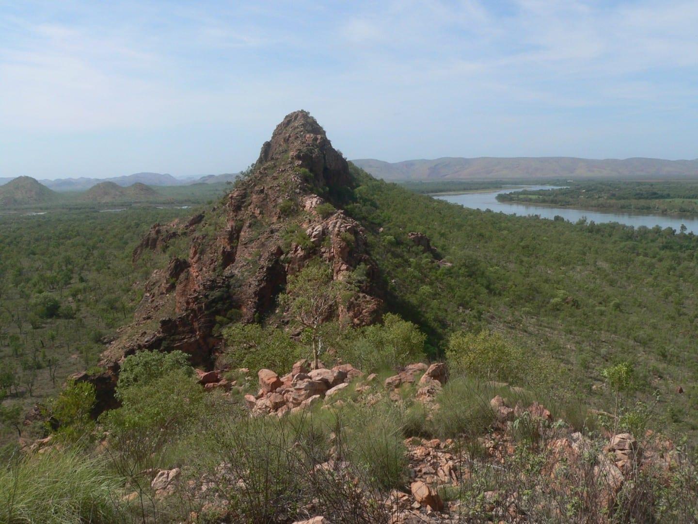La vista desde el Buda dormido Kununurra Australia