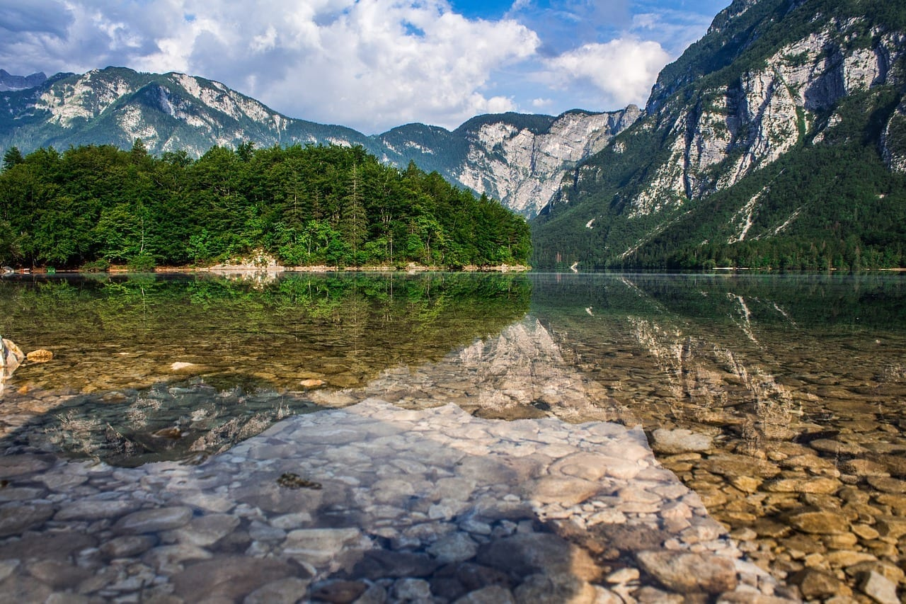 Lago Bohinj Eslovenia Eslovenia