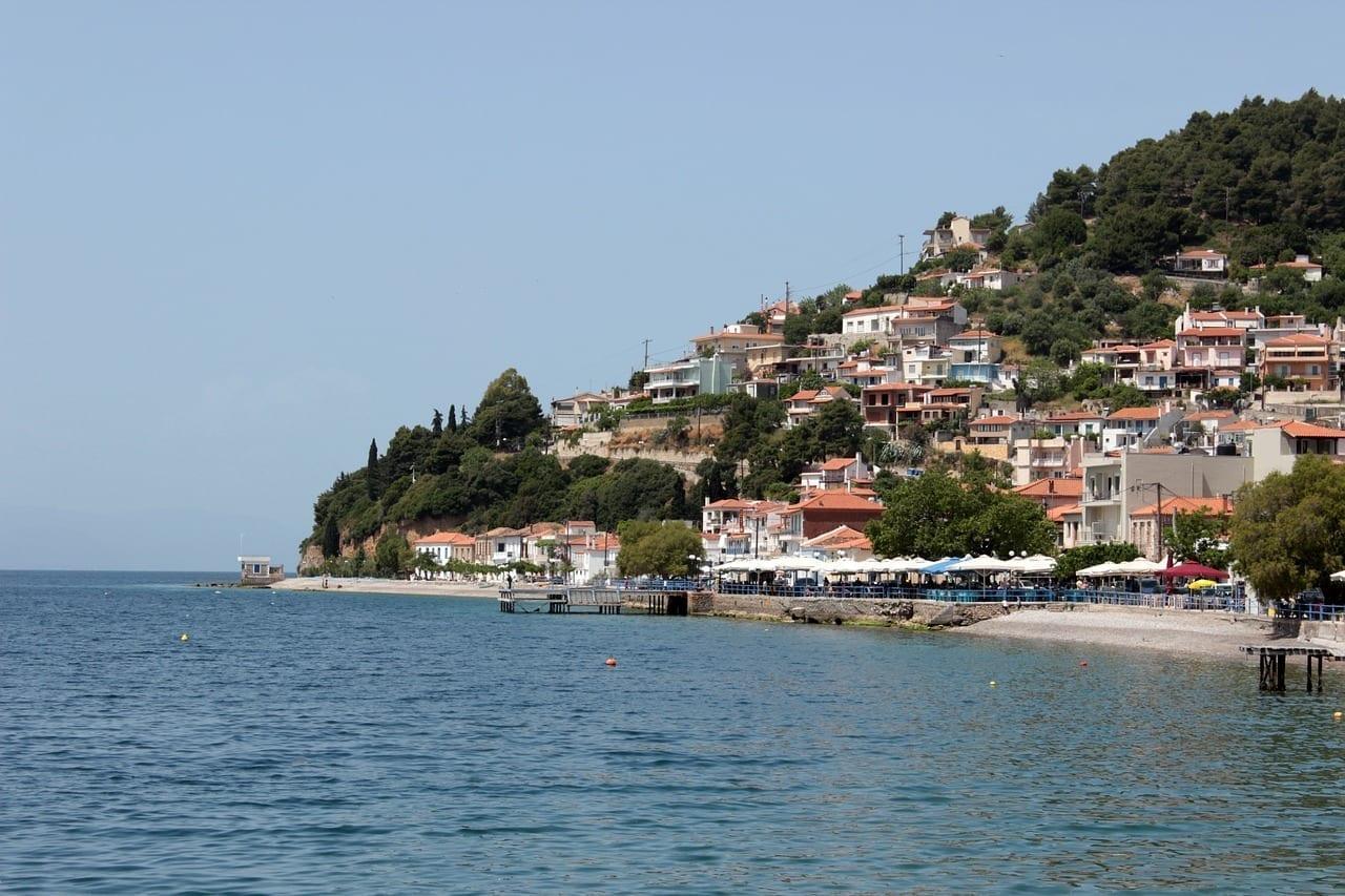 Lago Evia Isla Grecia