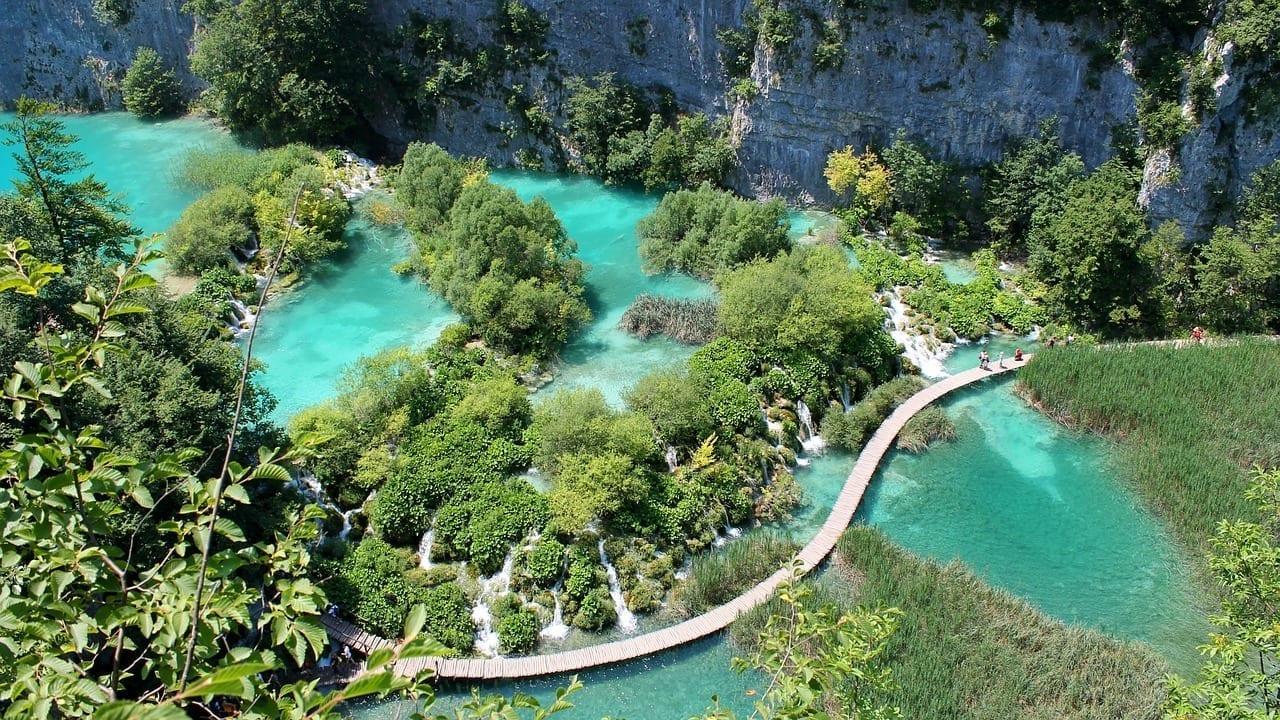 Lagos De Plitvice Parque Nacional Croacia Croacia