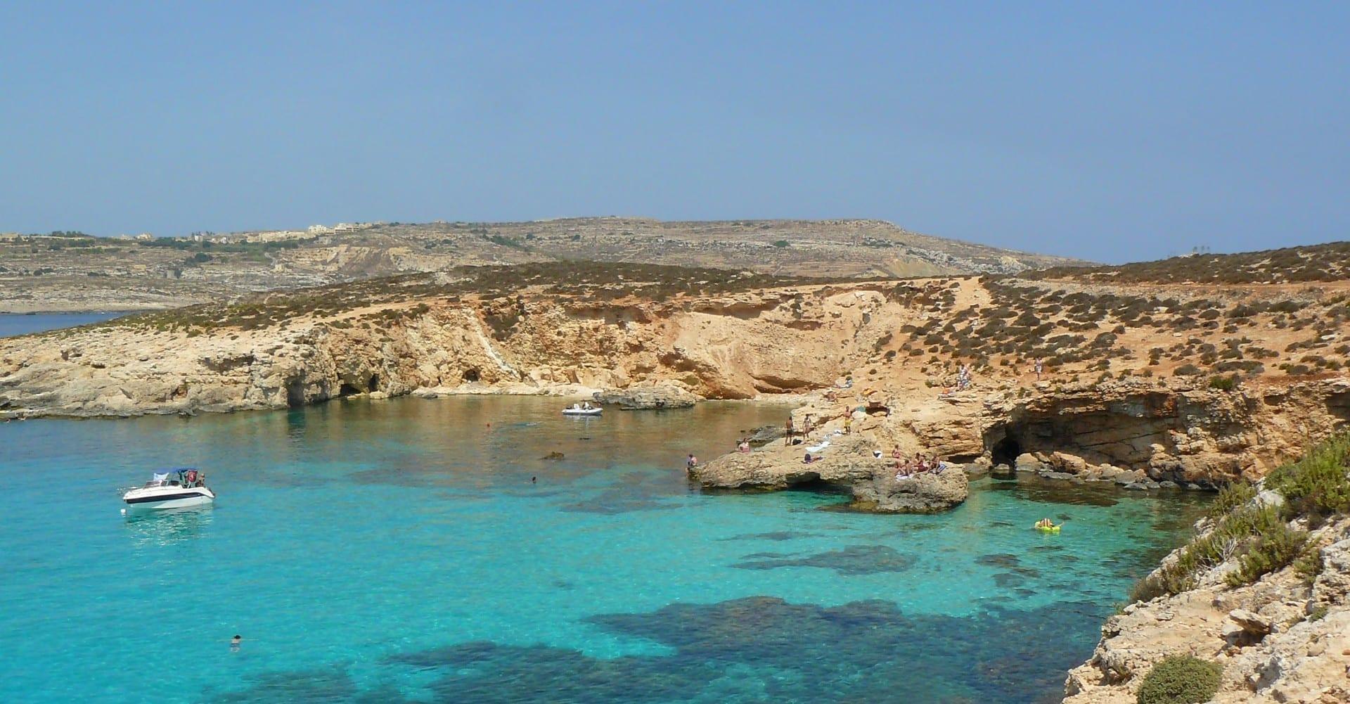 Laguna Azul Comino Malta