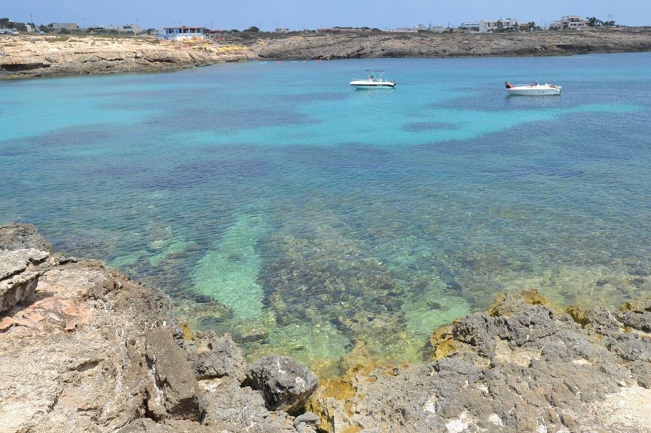 Lampedusa Isla Playa Italia