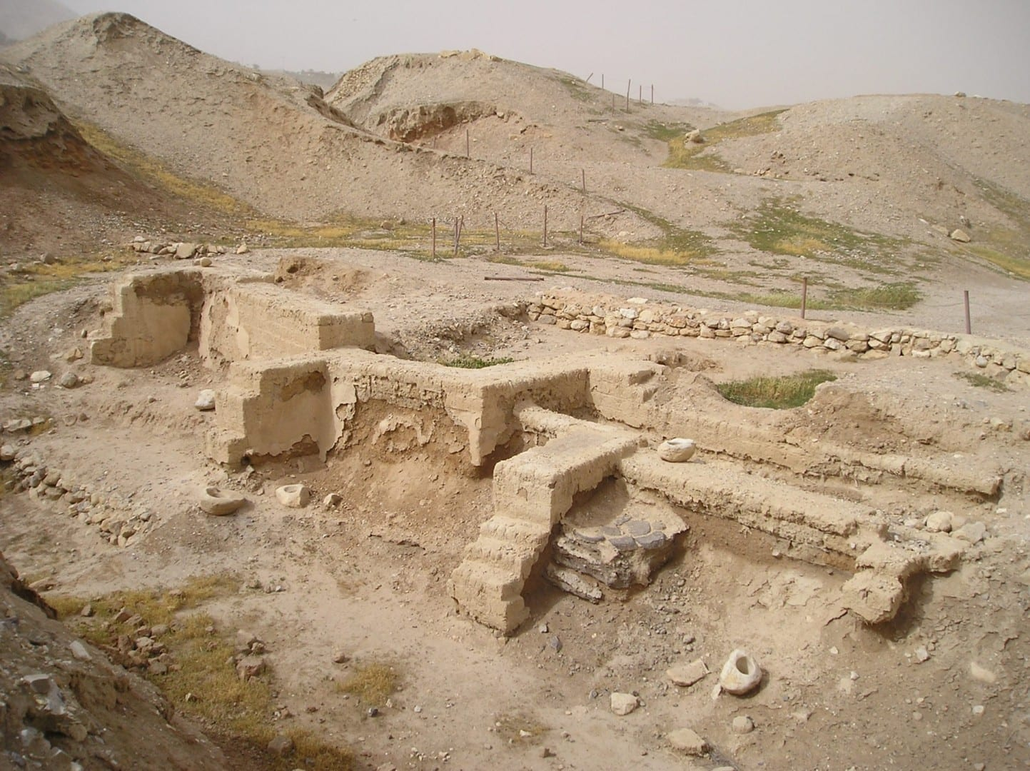 Las excavaciones en Tell es-Sultan Jericó Palestina