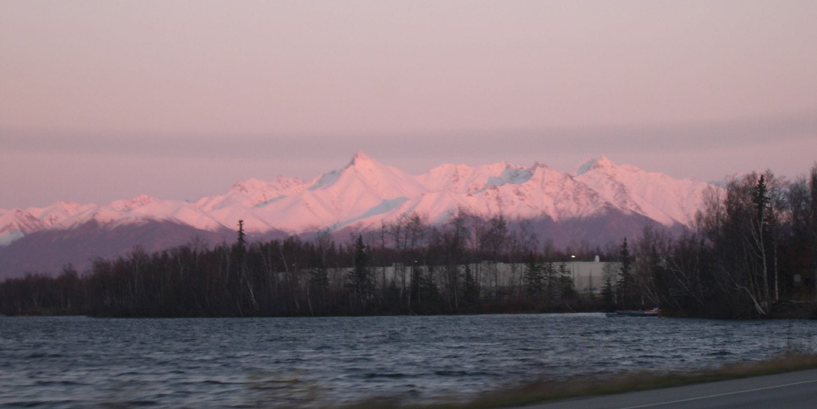 Las montañas alrededor de Wasilla Wasilla AK Estados Unidos