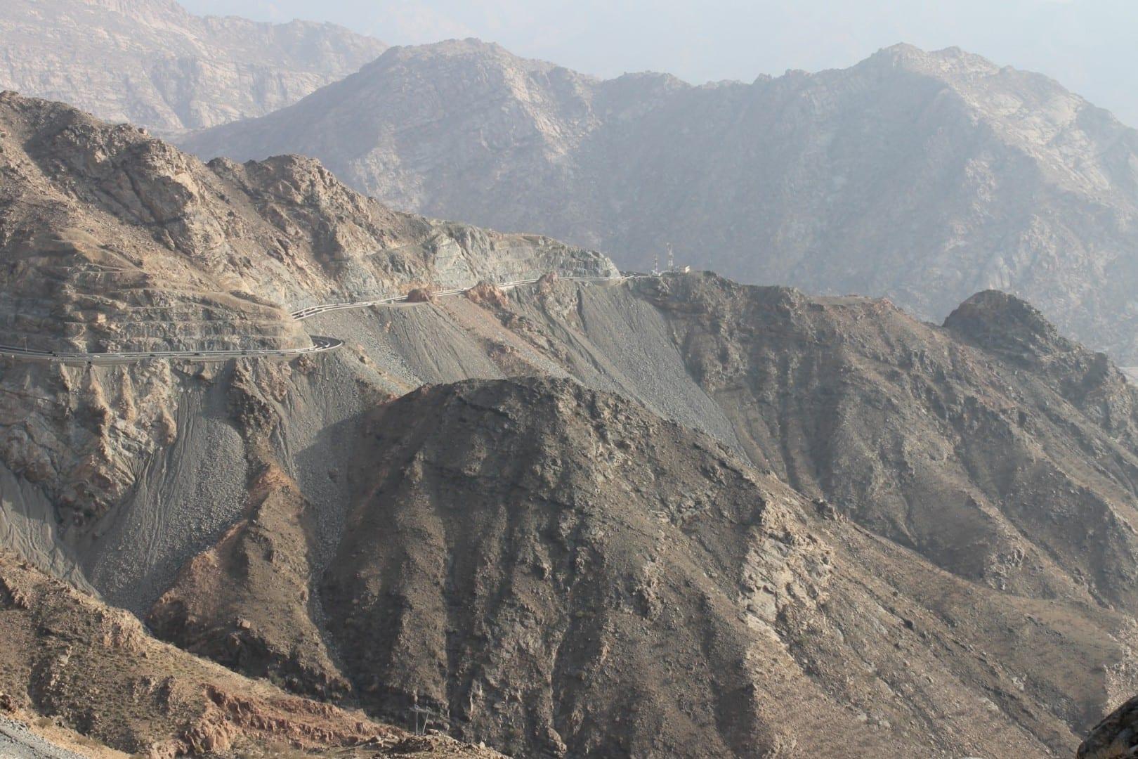 Las montañas cerca de Taif Taif Arabia Saudí