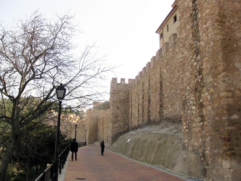 Las murallas de la ciudad de Segorbe Segrbe España
