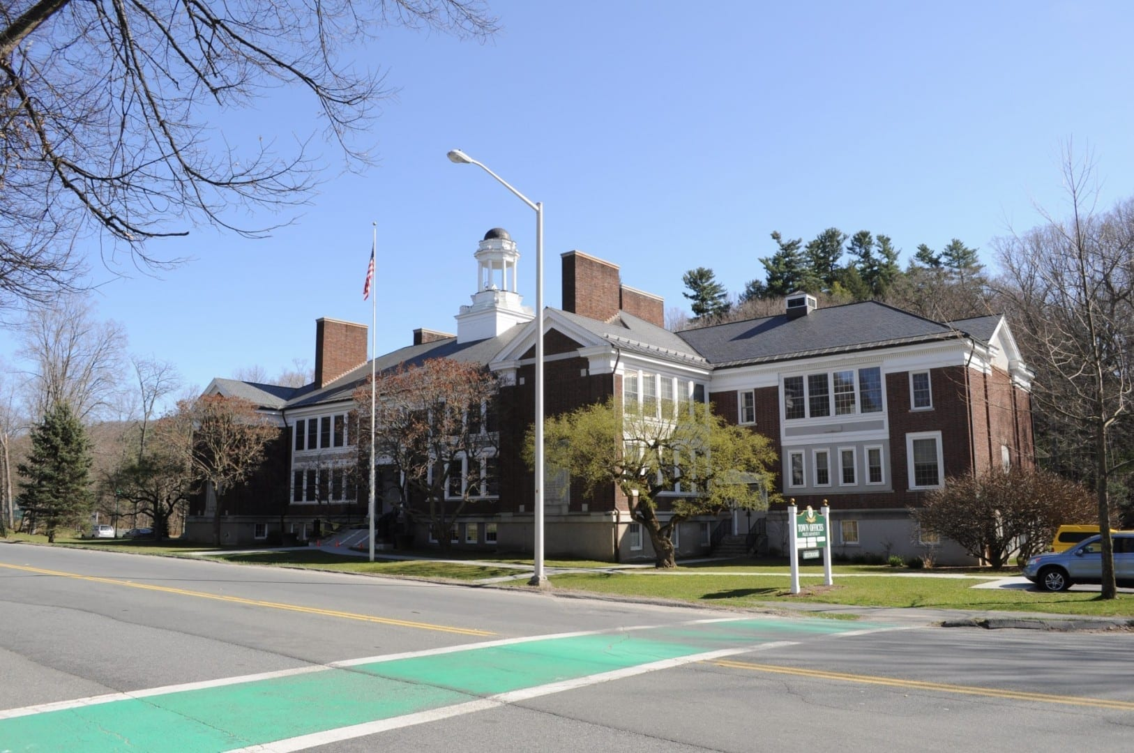 Las oficinas de la ciudad de Stockbridge Stockbridge MA Estados Unidos