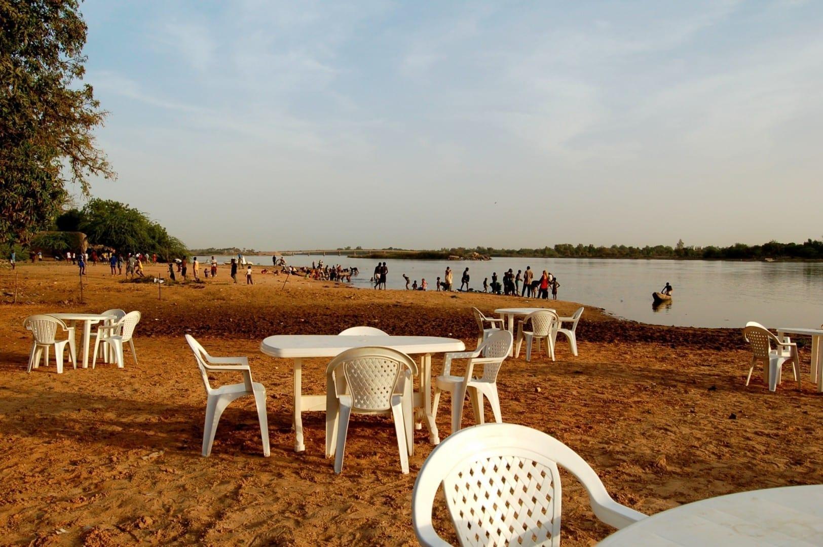 Las orillas del río Niamey Niamey Níger