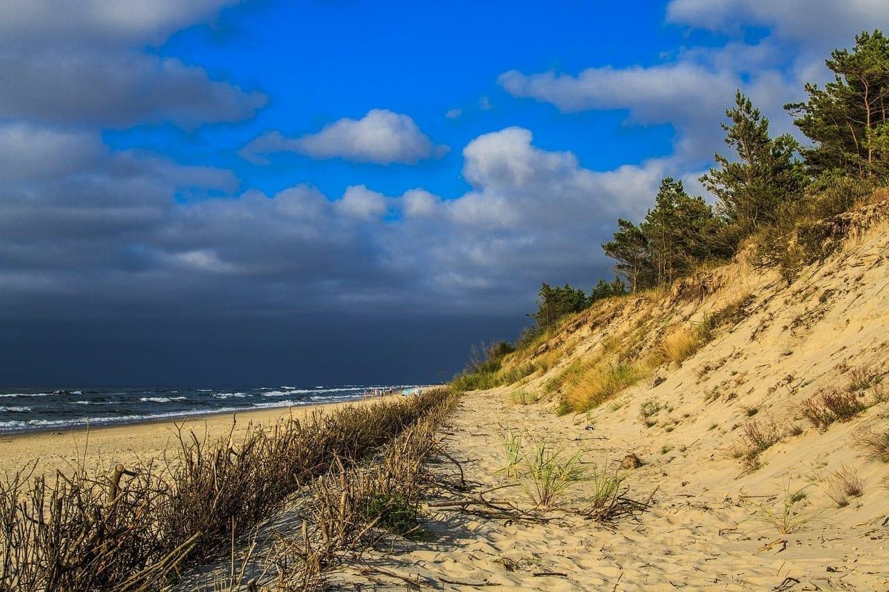 Leba Océano Mar Polonia