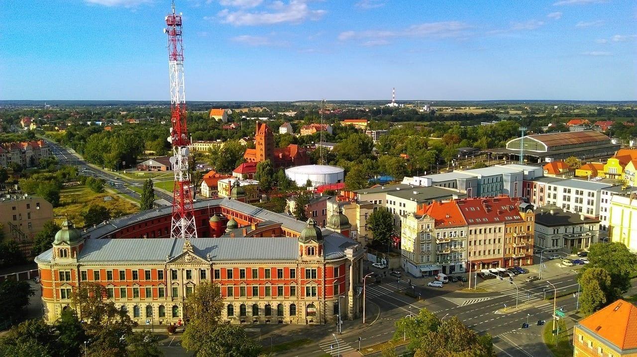 Legnica Panorama Ciudad Polonia