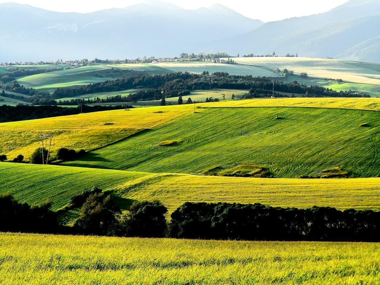 Liptov Campo Montaña República Eslovaca