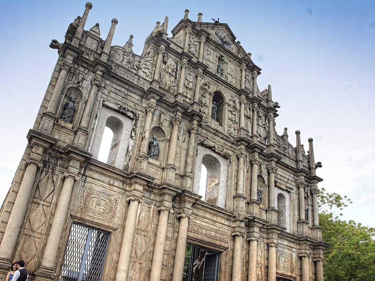 Macao Catedral Iglesia Portugal