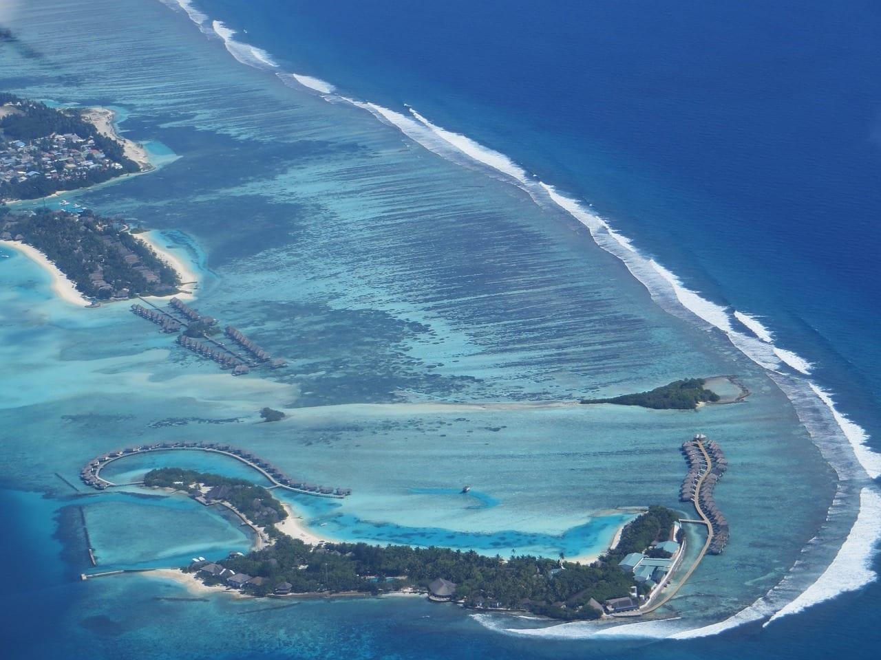 Maldivas Kuredu Océano índico Maldivas