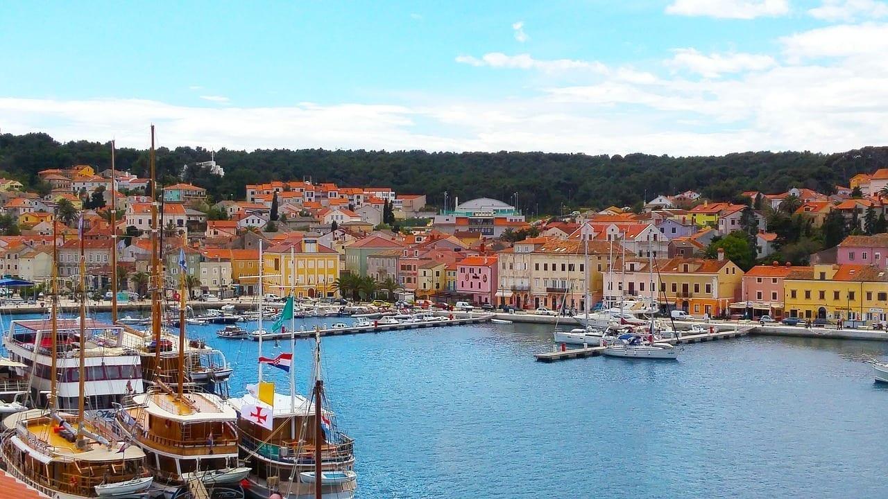 Mali Losinj Ciudad Croacia Croacia