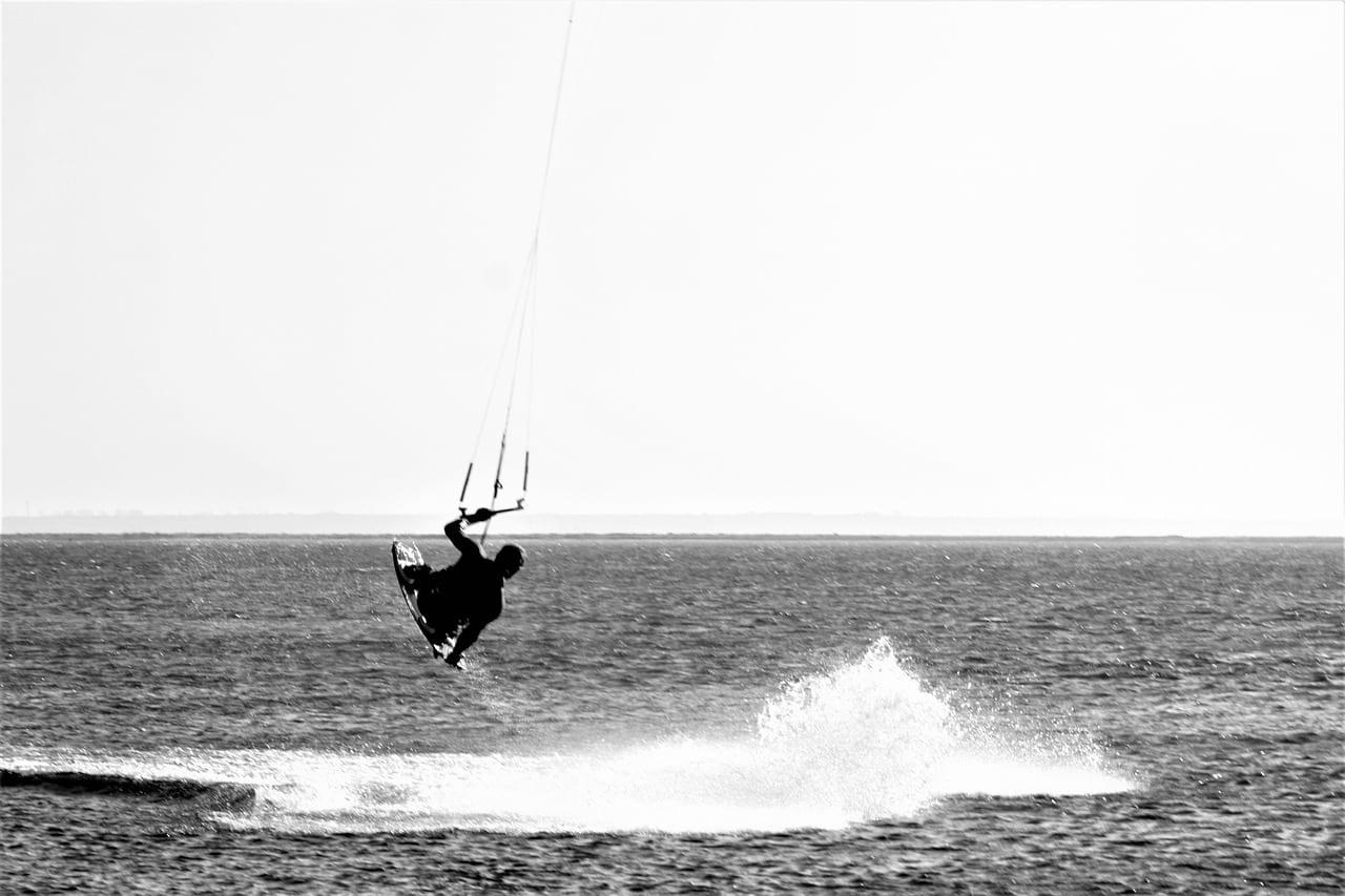 Mar Báltico Fehmarn Kite Surf Alemania