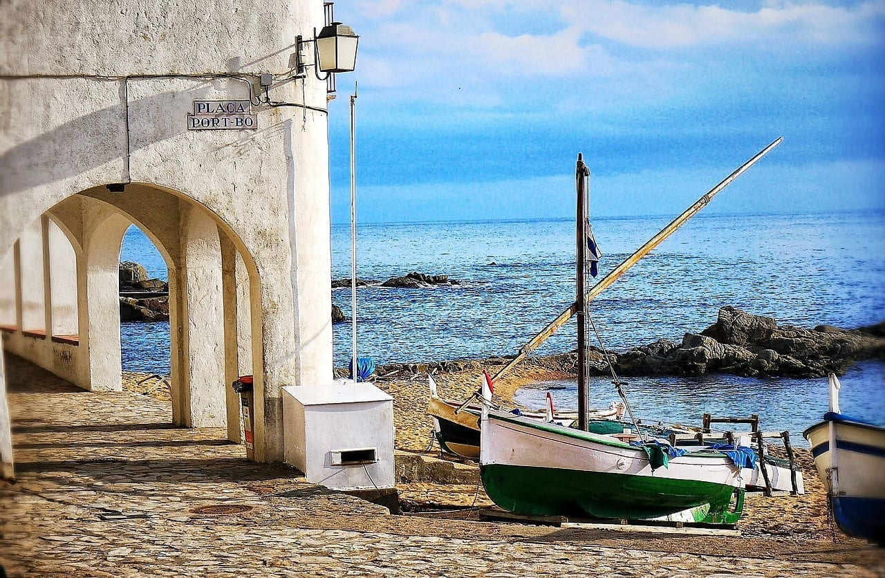 Mar Barco Costa Brava España
