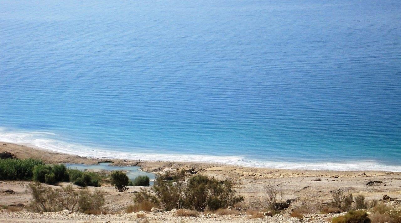 Mar Muerto Israel Tierra Jordania