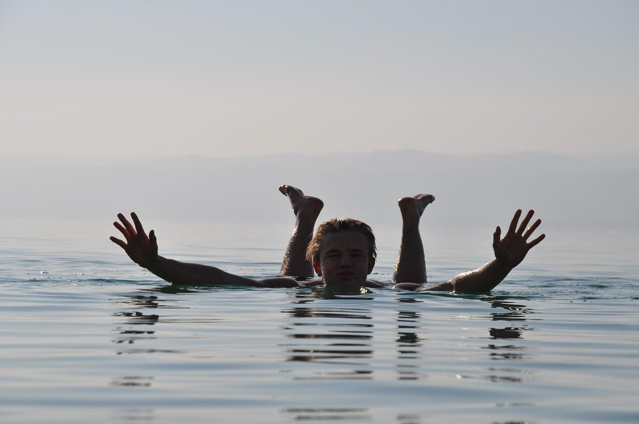 Mar Muerto Jordania Nadar Jordania