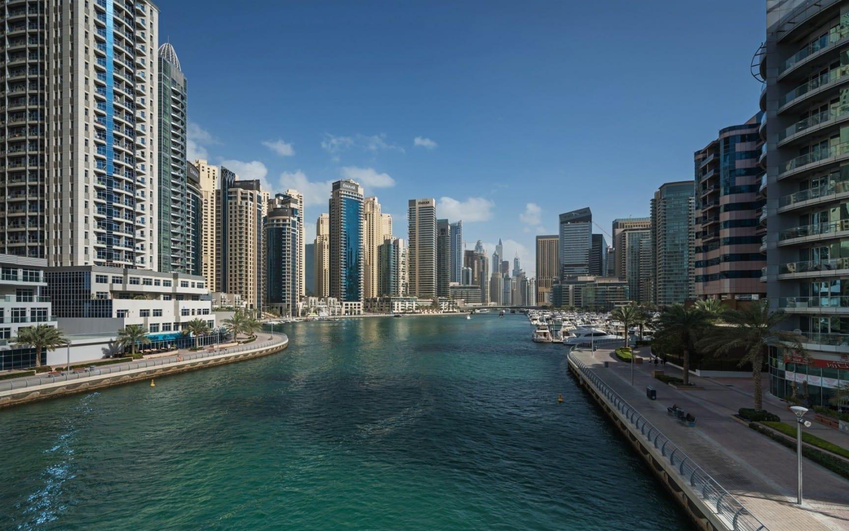 Marina de Dubai Jumeirah Beach Emiratos Árabes Unidos