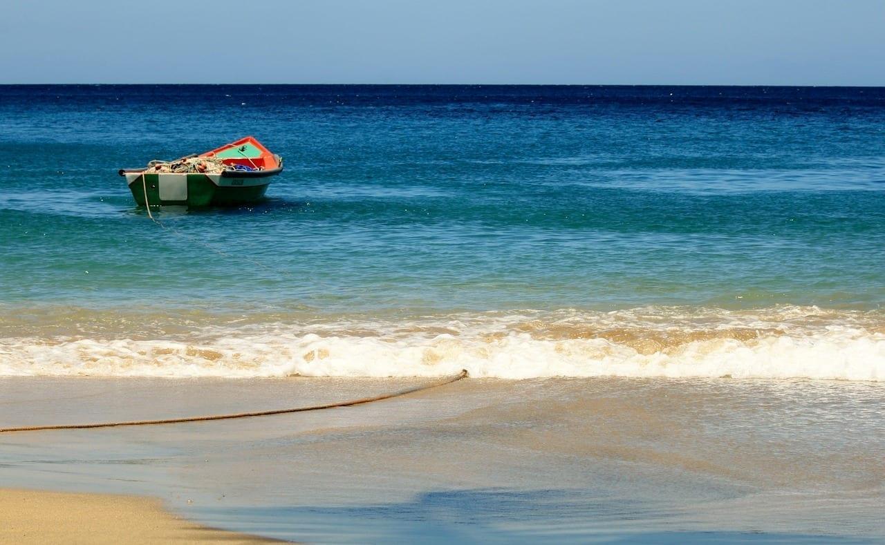 Martinica Barco De Pesca Caribe Martinica
