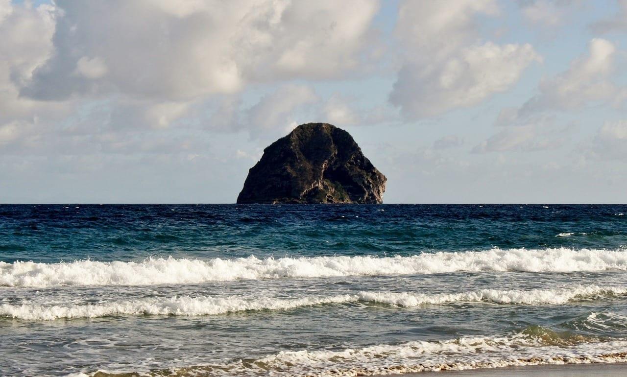 Martinica Diamante Roca De Diamante Martinica