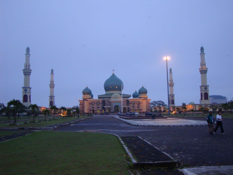 Masjid Agung (Gran Mezquita) de Pekanbaru Pekanbaru Indonesia