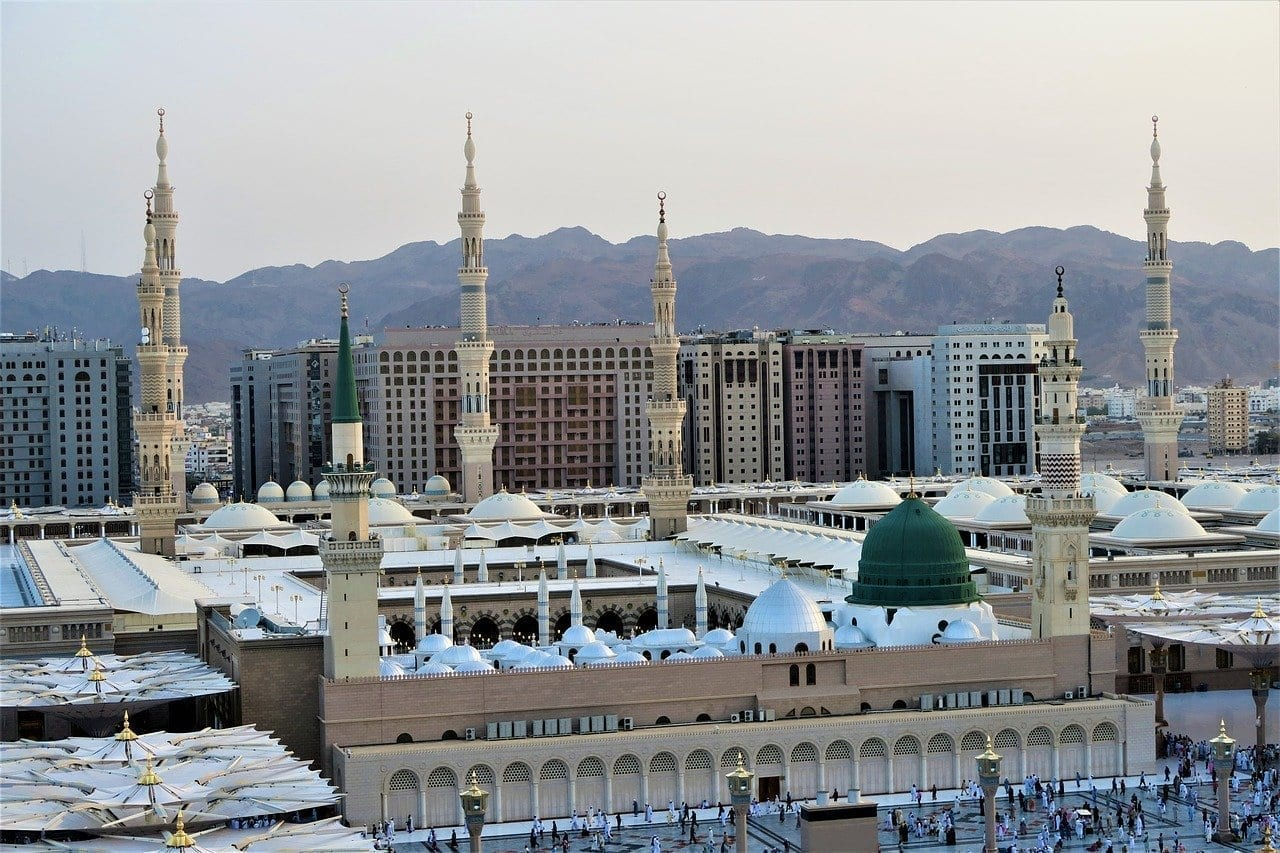 Masjid Nabawi He Medina Medina Arabia Saudí