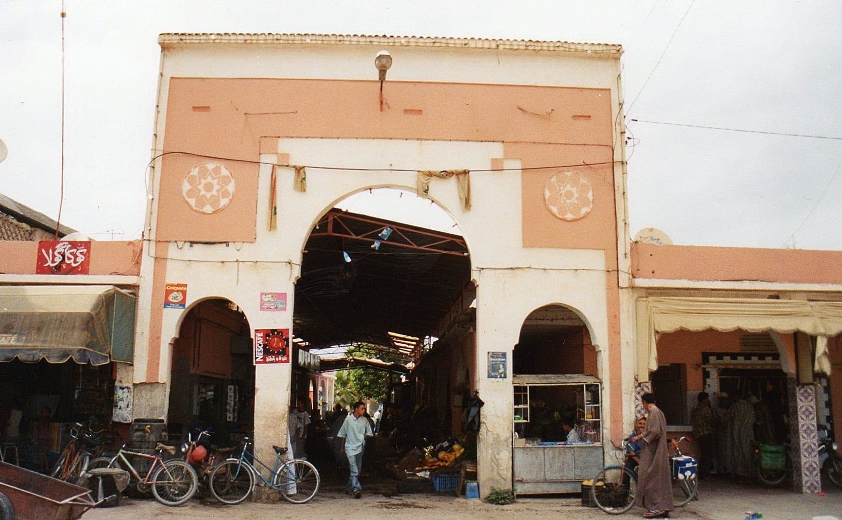 Mercado Ait Iazza Tarudant Marruecos