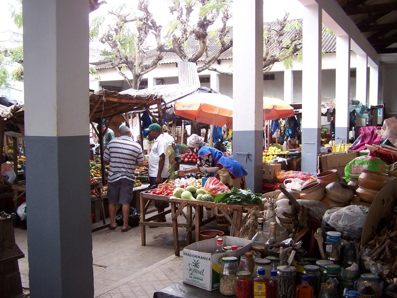 Mercado central en Inhambane Inhambane Mozambique