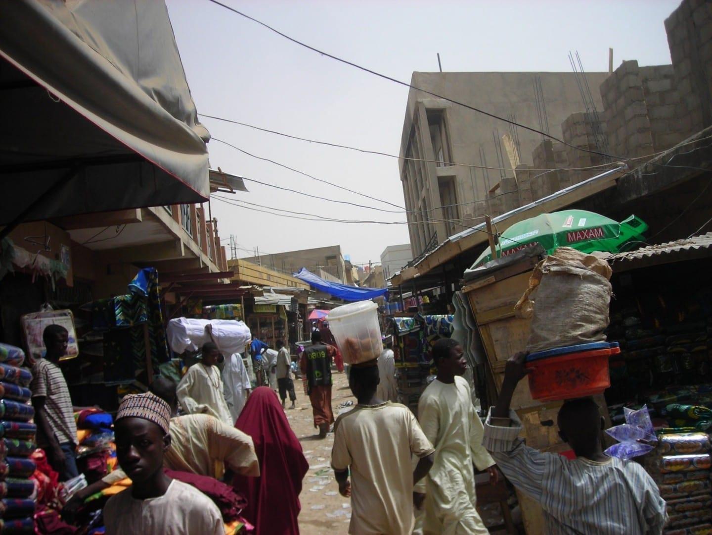Mercado de Kano Kano Nigeria