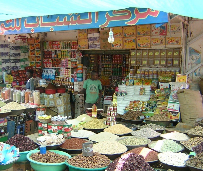 Mercado en Jartum Jartum Sudán