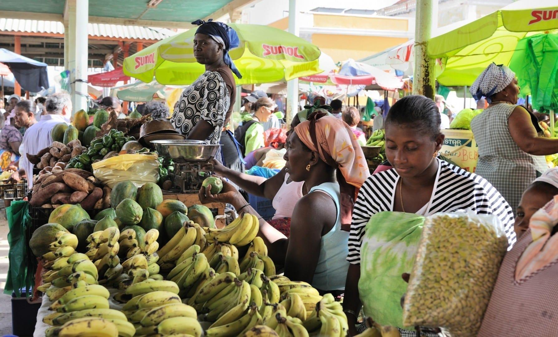 Mercado en Praia Praia (Isla de Santiago) Cabo Verde